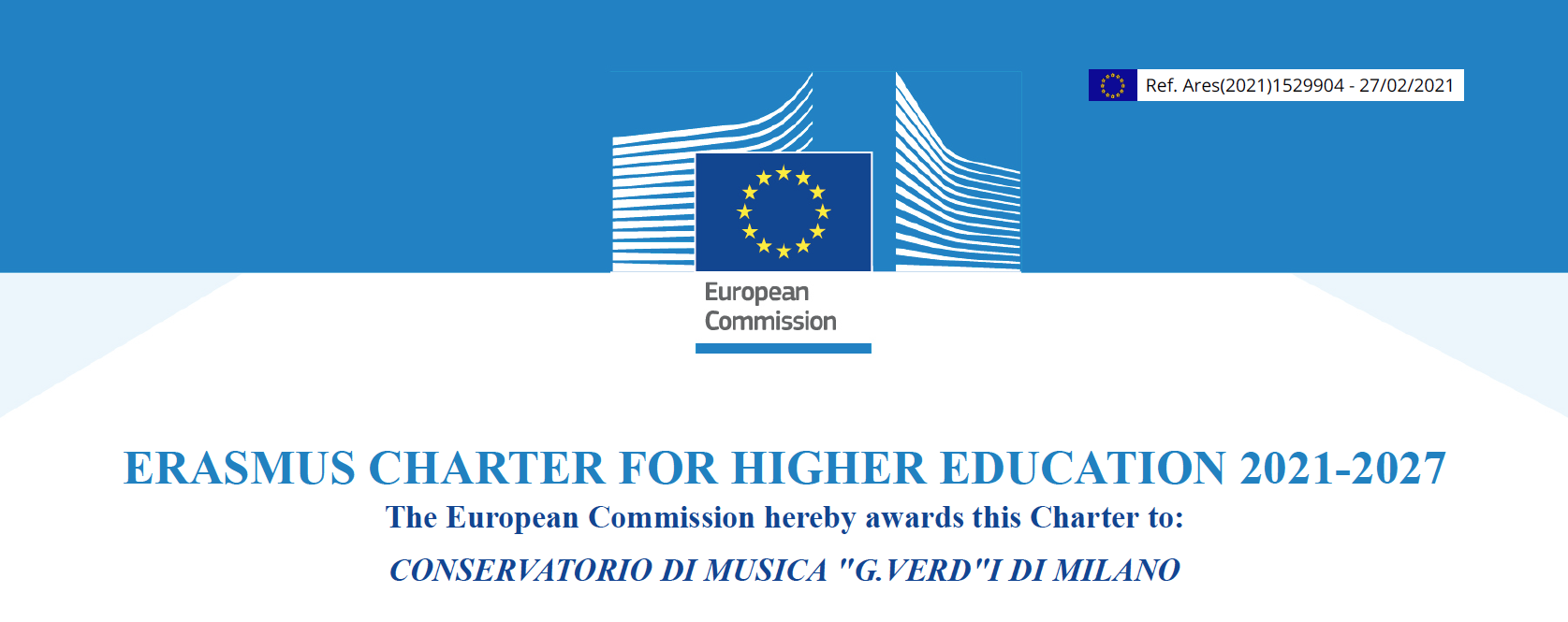 Erasmus Charter 2021 – 2027