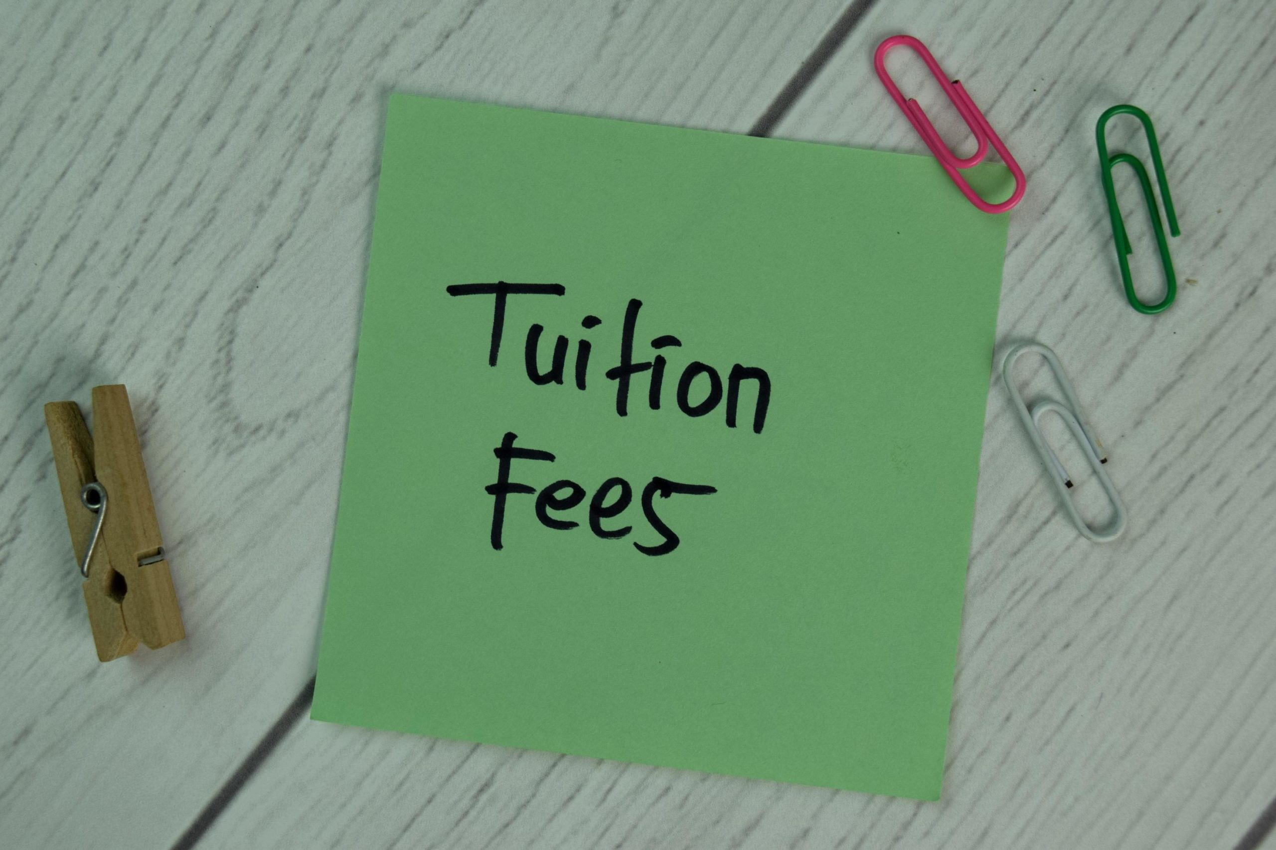 Tuition fees